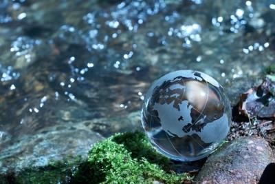 Rivers of Eden Globe