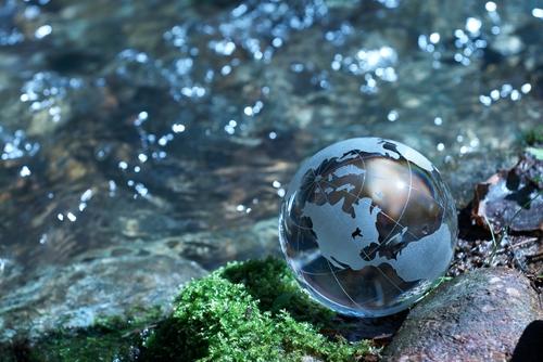 Rivers of Eden Earth Globe