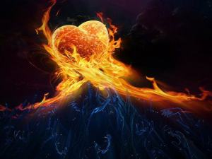 Heart on Fire for God