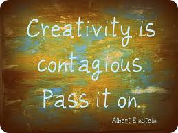 Creativity is Contatgious