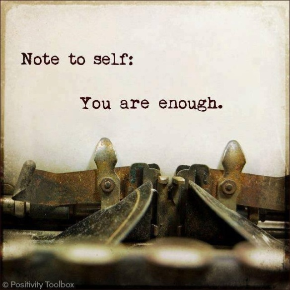 Note to Self: You are Enough