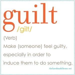 Guilt Definition