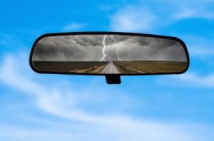 Rear View Mirror Sky