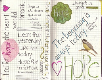 Hope Filled Journal