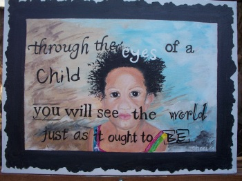Seeing thru a child's eyes